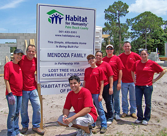 The Loren & Kean Law Firm commits time to helping families find homes with Habitat for Humanity.