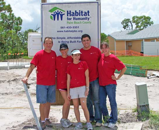 The Loren & Kean Law Firm is committed to supporting people in need through strong partnerships with outstanding non-profit initiatives like Habitat for Humanity.